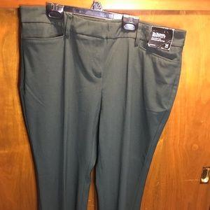 Dark green dress pant